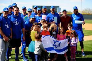 Team Israel holds mini-camp in Scottsdale