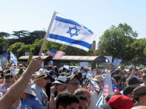"<p>At a pro-Israel rally in Los Angeles, the author began to find a new understanding of why we mourn on Tisha B'Av.</p><p style=""text-align: right;""><em>Photo by Edmon J. Rodman</em></p>"