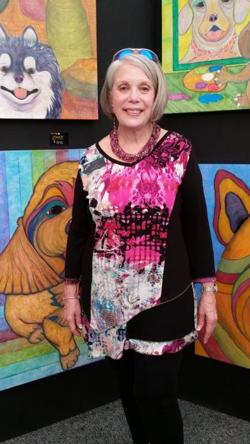 <p>Painter Lee Goldstein captures dogs' personalities on canvas.</p>