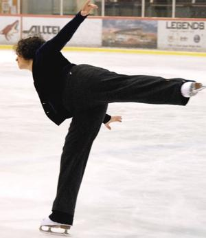 <p>In her 60s, Lynn Jaffe returned to her childhood love of ice skating. Now, a decade later, she regularly takes classes at the Ice Den in Scottsdale.</p><p>Photo courtesy of Lynn Jaffe</p>