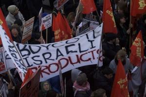 Boycott demonstration