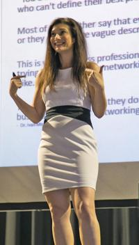 <p>Gelie Ahkenblit, founder of NetworkingPhoenix.com, gives tips on how to network successfully.     </p><p></p><p>Photo courtesy of Networking Phoenix</p>