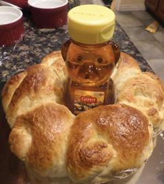 <p>Dina Bacharach makes custom challahs for different holidays, such as, Purim, Rosh Hashanah, Hanukkah and Simchat Torah.     </p><p></p><p>Photos courtesy of Dina Bacharach</p>