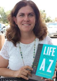 "<p>Dr. Livia Spitz Steingart recently released her new book, ""Life from A to Z.""</p><p></p><p>Photo by Audrey Matalon</p>"