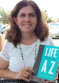 "<p>Dr. Livia Spitz Steingart recently released her new book, ""Life from A to Z.""</p><p></p><p>Photo by Audrey Matalon</p>"