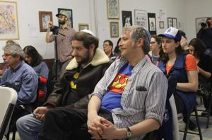 At first Jewish Comic Con, artists and geeks revel in tradition