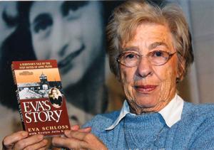 Anne Frank's stepsister Eva Schloss to speak in Paradise Valley