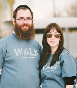 Rabbi Mendy and Leah Levertov