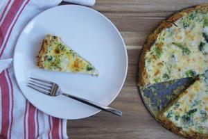 Quiche for a Passover breakfast