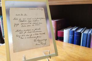 Poem handwritten by Anne Frank sells for $150,000
