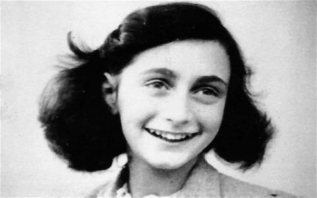 The inspiration of Anne Frank