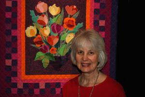 Solel showcases quilt artist