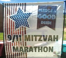 <p>Chabad at ASU hosted a 9/11 Mitzvah Marathon on Sept. 12, encouraging students to pledge to do good deeds in memory of 9/11 victims.</p><p>Photo by Graham Paul</p>