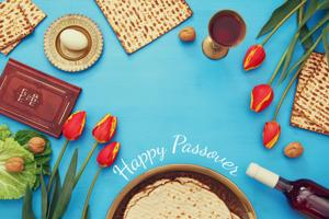 From our families to yours, Happy Passover!