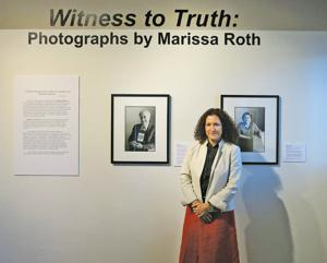 """""""Witness to Truth: Portraits of Holocaust Survivors"""""""