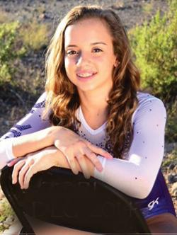<p>Gymnast Tori Williams, a high school student in Chandler, will represent the United States at the 2015 Pan American Maccabi Games in Santiago, Chile. </p><p>Photo courtesy of Debbie Williams</p>