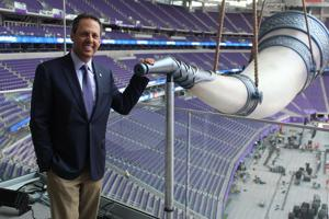 Minnesota Vikings owner thinks big with new stadium and Holocaust philanthropy
