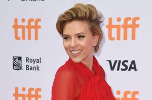 Scarlett Johansson opens Paris popcorn shop