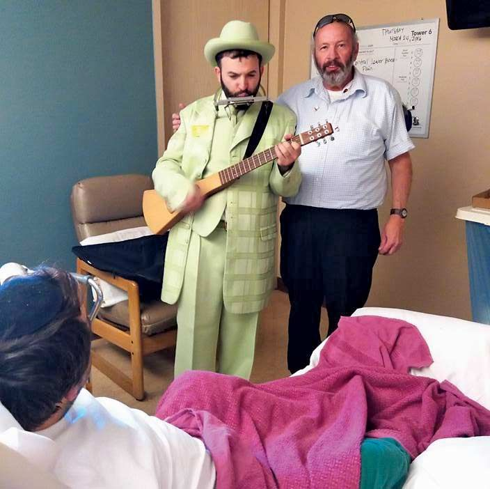 Ezras Cholim volunteers provide care for the ill