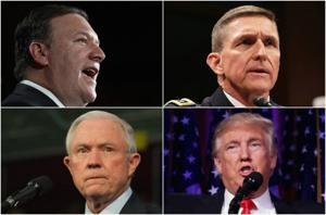 Meet the 3 firebrands Donald Trump is naming to national security posts