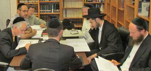 Professionals study to become rabbis