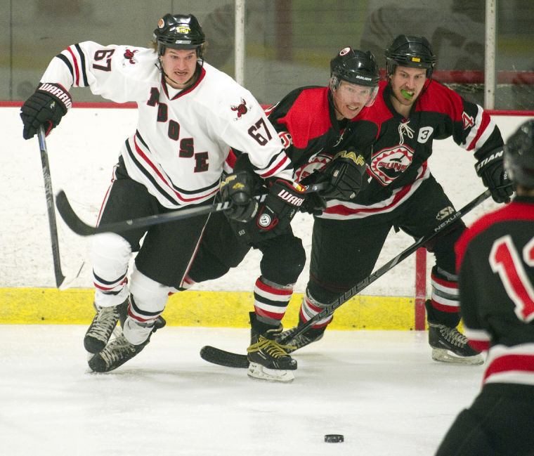Moose Lose Their Lead Black Diamond Hockey League