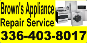 Brown Appliance Repair Service