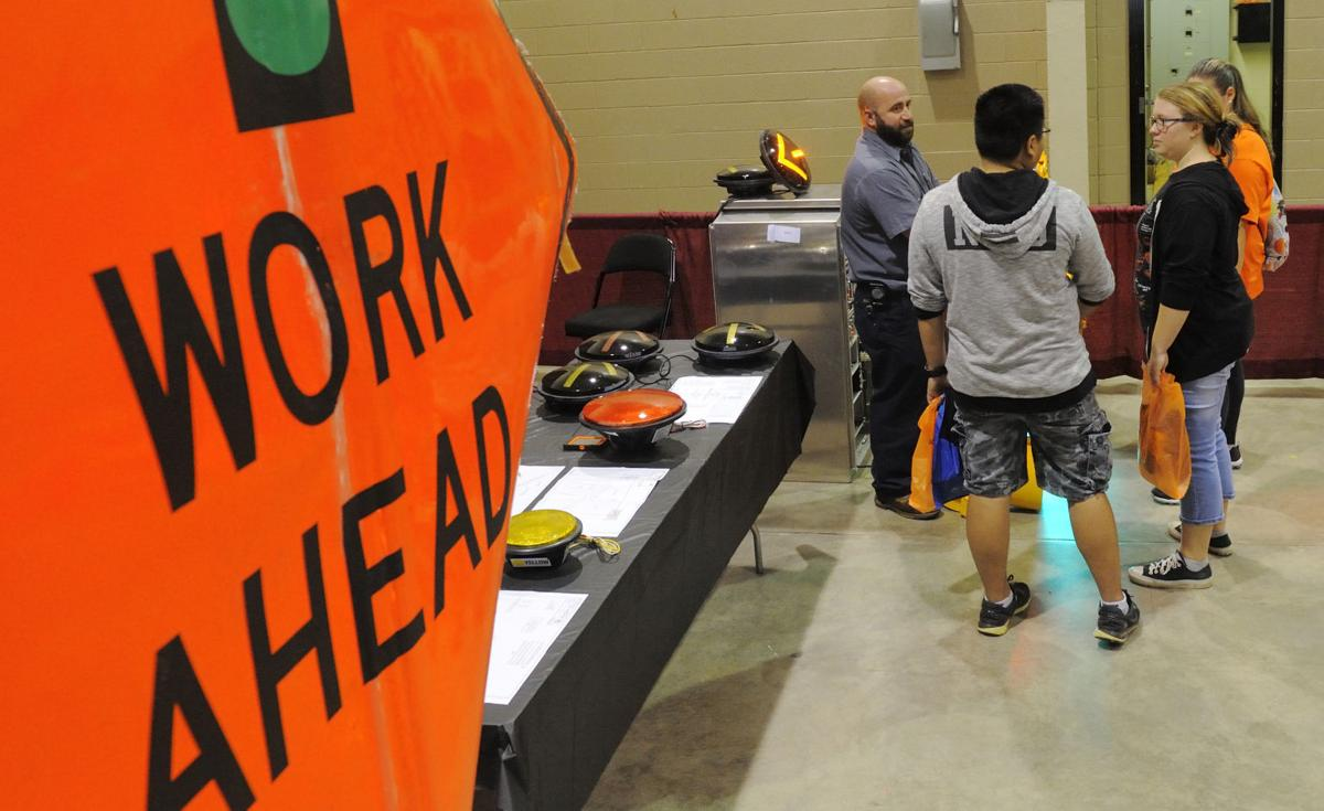 trade and construction firms pitch good jobs good pay to teens construction job fair