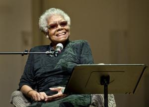 Maya Angelou recites emancipation proclmation poem
