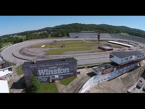 video of north wilkesboro speedway takes off winston