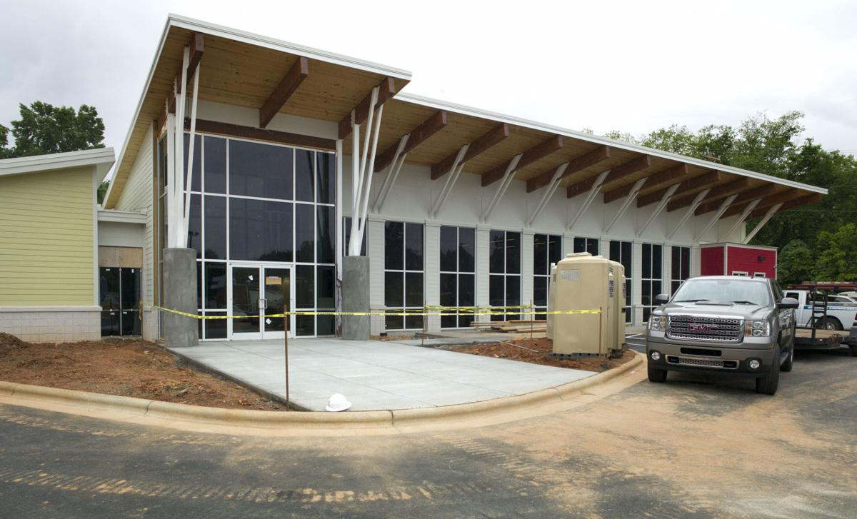 Rolfe House Foyer : Humane society sets aug for debut in new center