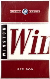 Sobranie cigarette red box