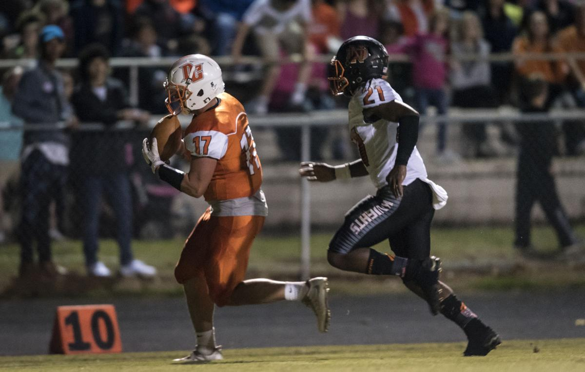 Davie Prevails War Eagles Hold Off North Davidson 45 42
