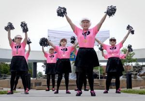 Piedmont Cheering Hearts
