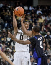 BASKETBALL: College - Furman v Wake Forest