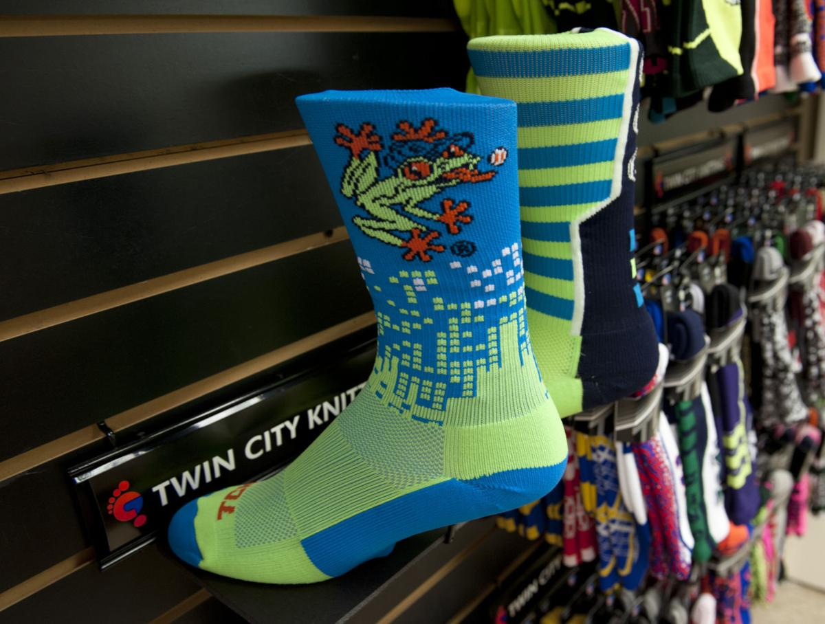 Twin City Knitting Logo : Sock merger gives davie company bigger pairing in athletic