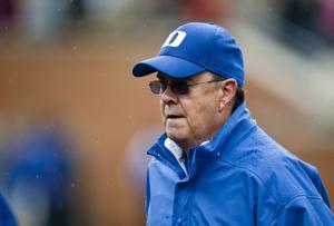 Duke head coach David Cutcliffe