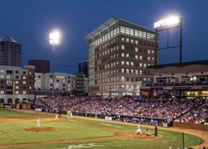 New office building will be integrated into Greensboro baseball stadium