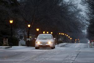 Winter weather in Georgia