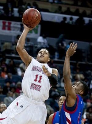 Justin Glover Basketball Winston-Salem State WSSU