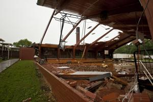 Tornadoes down trees and damage buildings across four counties (Videos)
