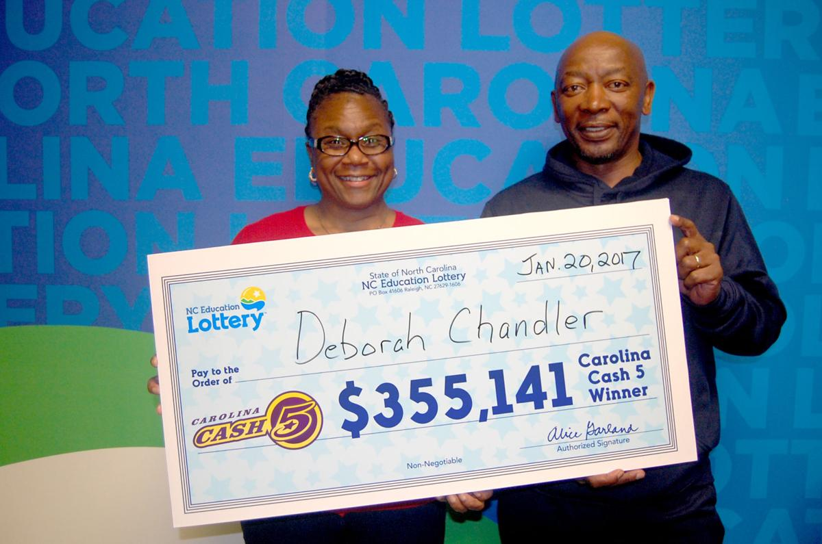 news local winston salem woman takes home slice million jackpot article dccf