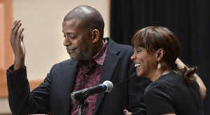 Debbi Morgan, National Black Theatre Festival co-chair faces fears in book and play