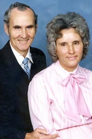 Earlier photograph... EARNEST AND JULIANN LADD JOHNSON
