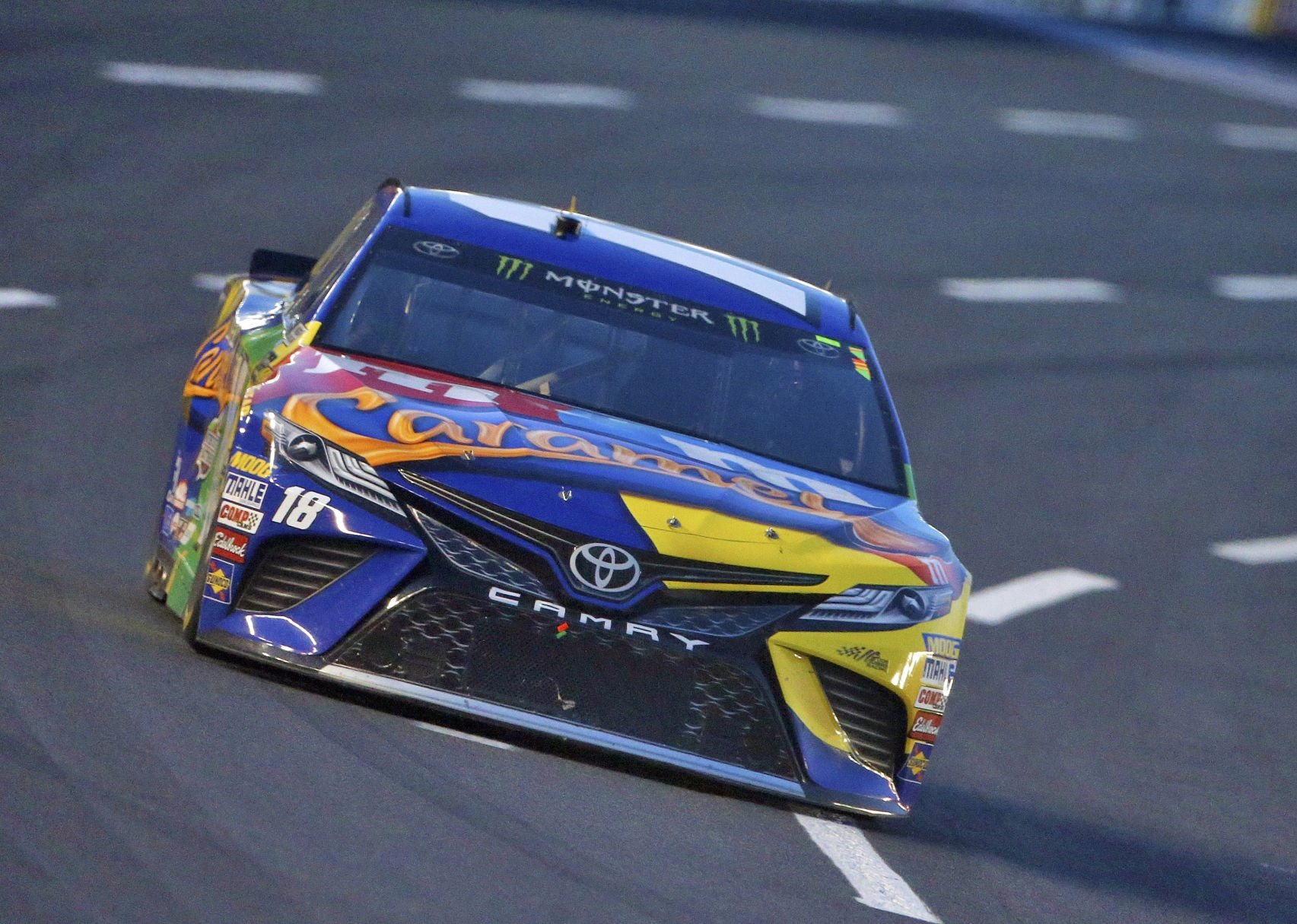 Kyle Busch wins Truck race at Charlotte Motor Speedway