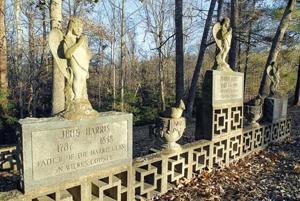 Jehu Harris grave marker