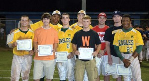 Wilkes County's all-conference baseball players