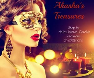 Akasha's Treasures Austin | 254-213-0251
