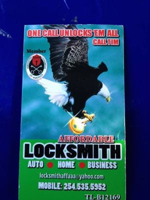 Affordable Locksmith Service - Temple