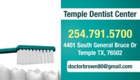Dentists in Killeen TX 254-791-5700 Temple Dental Center